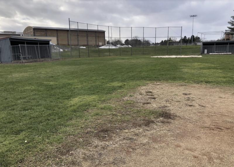 Baseball field at Niskayuna High School