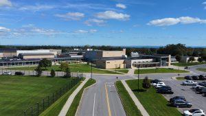 aerial photo of Niskayuna High School